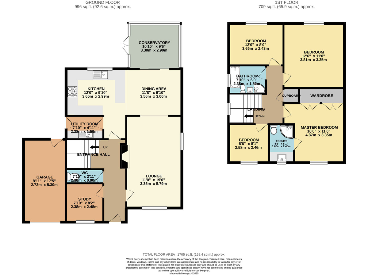 Property floor plan.